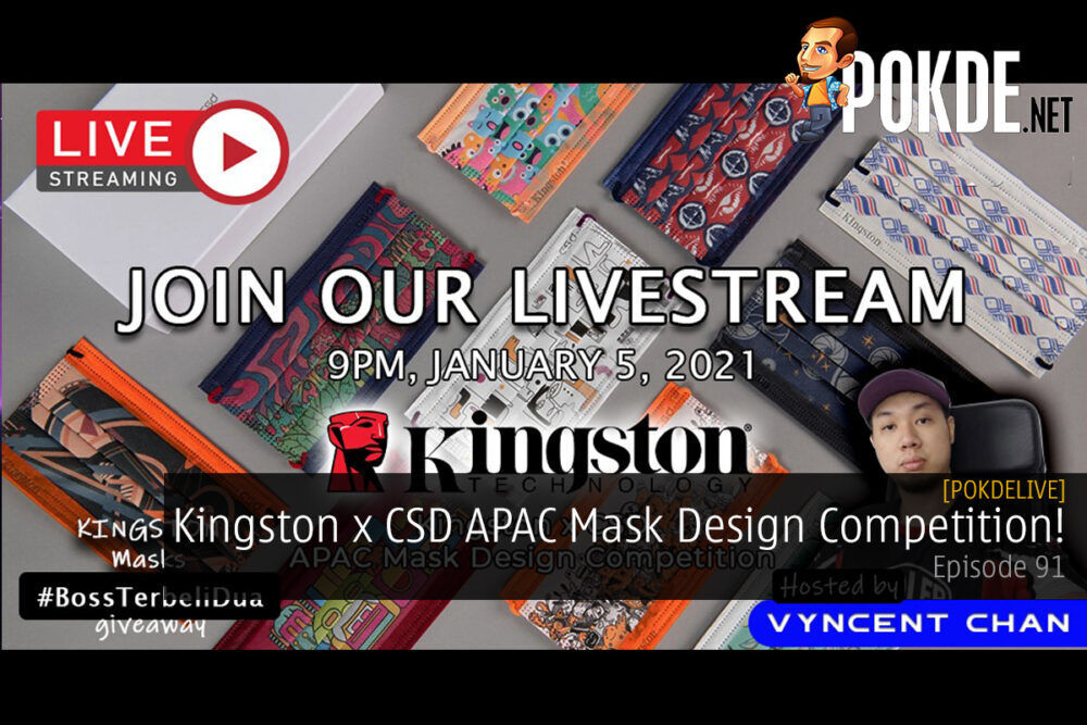 PokdeLIVE 91 — Kingston x CSD APAC Mask Design Competition! 22