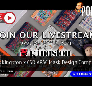 PokdeLIVE 91 — Kingston x CSD APAC Mask Design Competition! 20