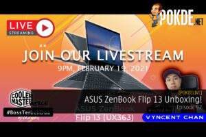PokdeLIVE 92 — ASUS ZenBook Flip 13 Unboxing! 19