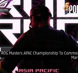 ROG Masters APAC Championship To Commence This March 2021 28