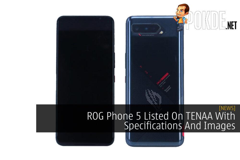 ROG Phone 5 TENAA cover