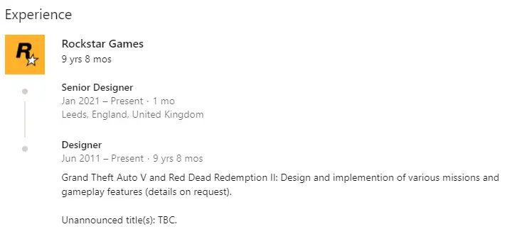 Rockstar Games Leak Info Ian Gander