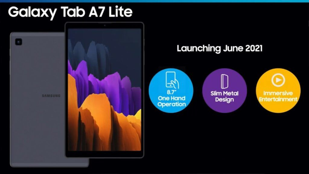 Samsung Galaxy Tab S7 Lite and Tab A7 Lite Allegedly Leaked