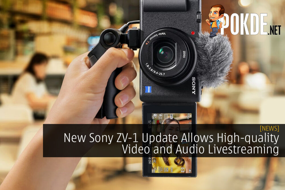 Sony ZV-1 New Update cover