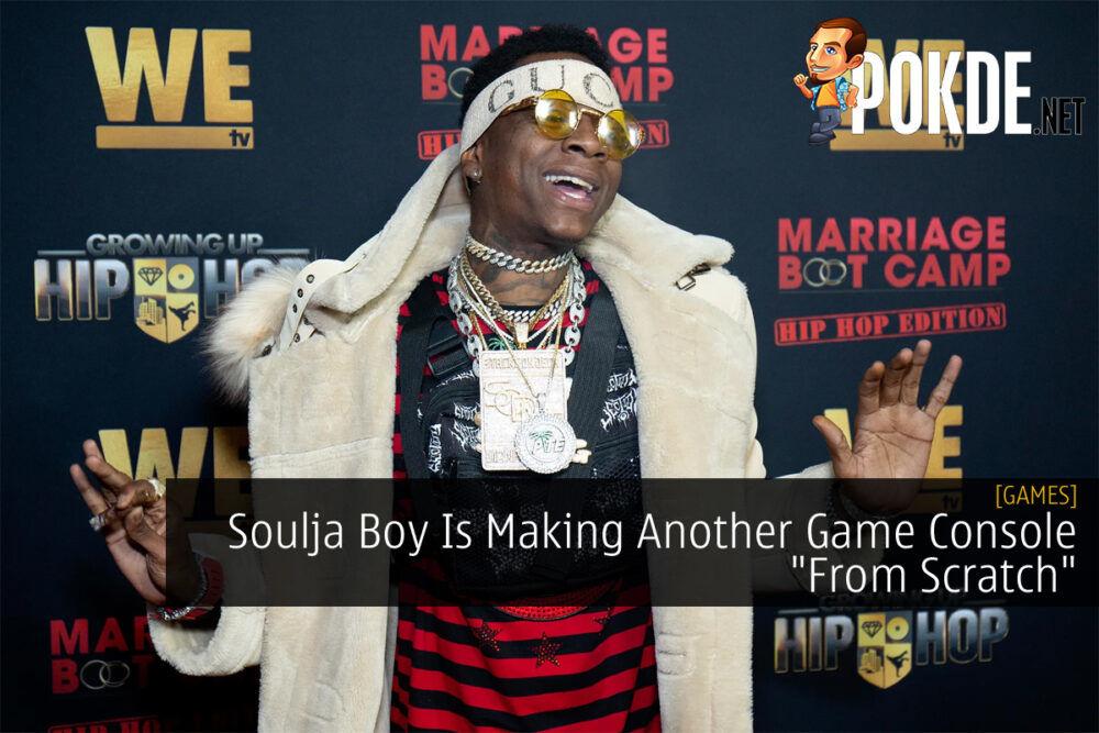 Soulja Boy Soulja Game console cover