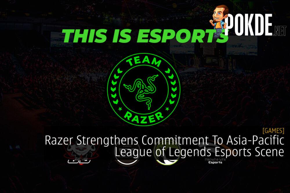 Team Razer Asia Pacific League of Legends cover