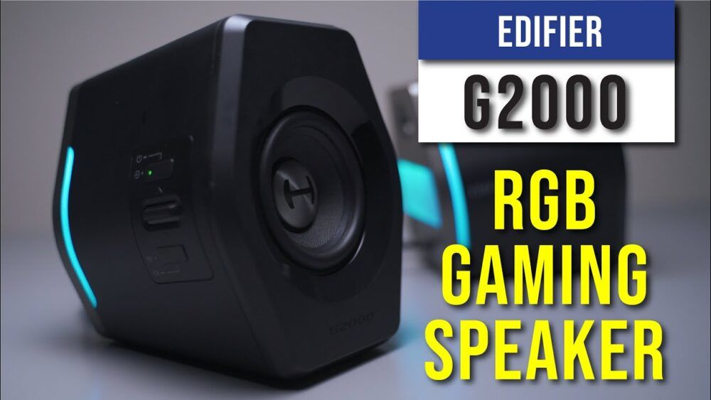 Edifier G2000 Review - A gaming RGB Speaker 22