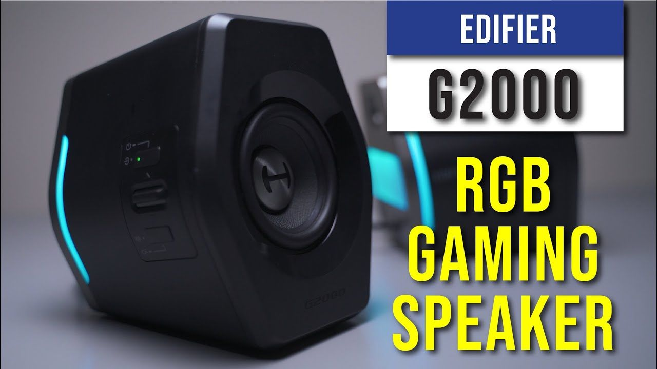 Edifier G2000 Review - A gaming RGB Speaker 21