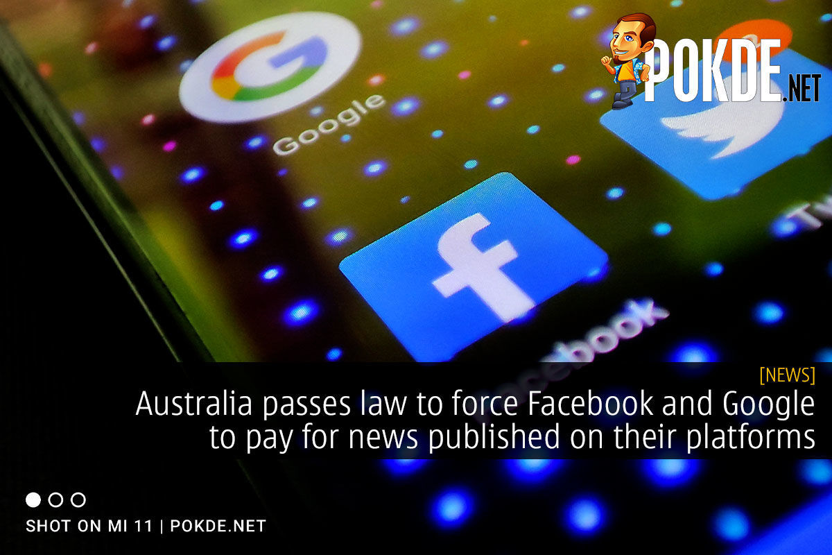 australia facebook google news law cover