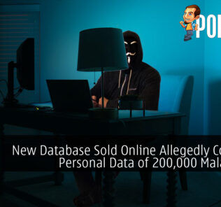 New Database Sold Online Allegedly Contains Personal Data of 200,000 Malaysians