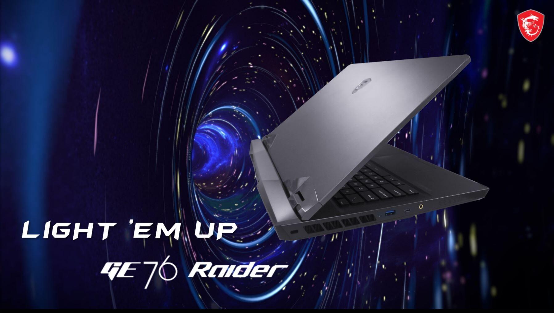 Breaking Down The MSI GE76 Raider With New GeForce RTX 30-Series GPU –  Pokde.Net