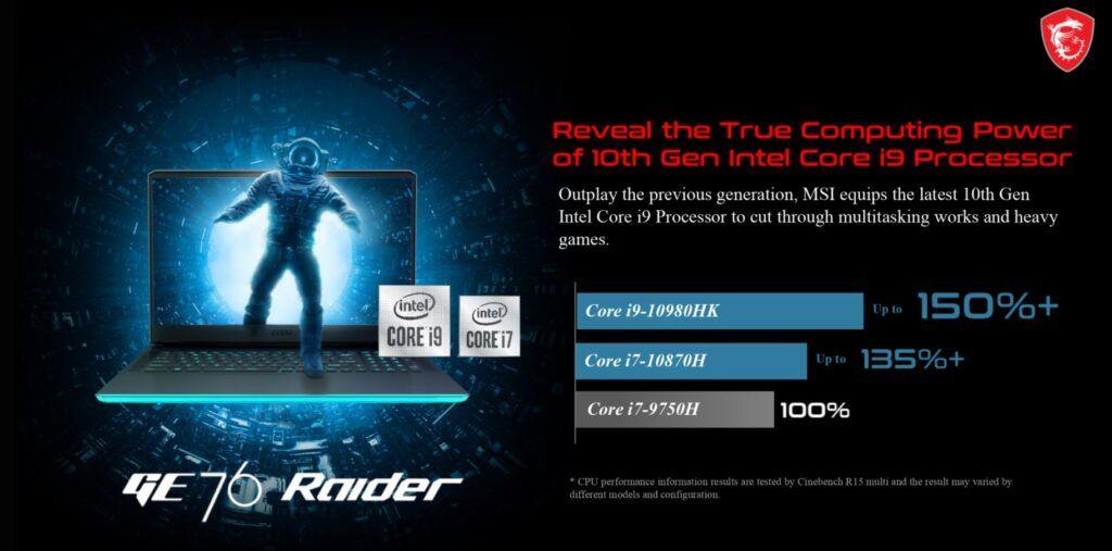 Breaking Down the MSI GE76 Raider with New GeForce RTX 30-Series GPU