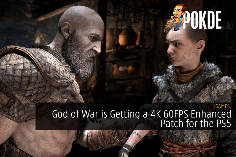 God of War is Getting a 4K 60FPS Enhanced Patch for the PS5