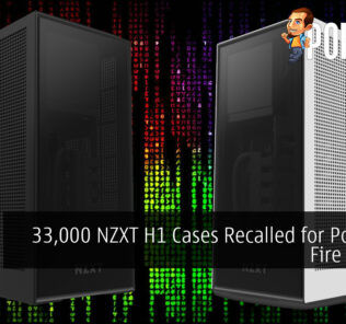 33,000 NZXT H1 Cases Recalled for Potential Fire Hazard