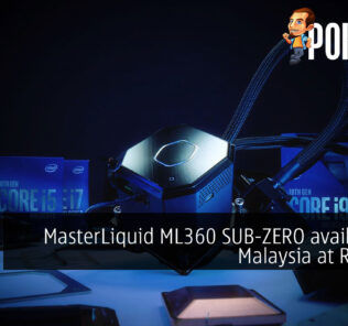 MasterLiquid ML360 SUB-ZERO available in Malaysia at RM1499 25