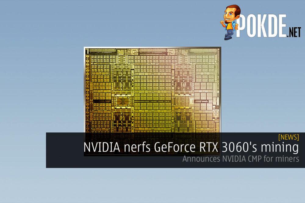 nvidia nerf geforce rtx 3060 mining nvidia cmp cover
