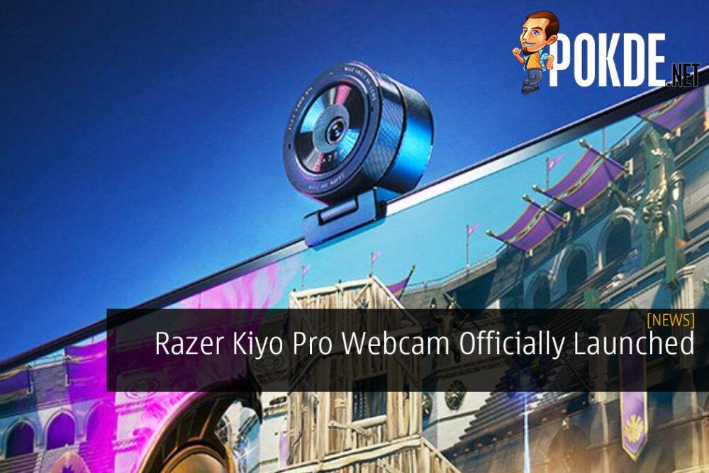 Razer Kiyo Pro Webcam Officially Launched
