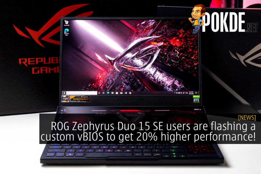 rog zephyrus duo 15 se custom vbios performance cover