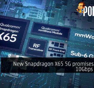 snapdragon x65 5g modem rf system