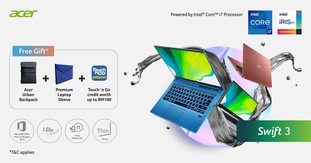 Acer Swift Series: The Pathway from Education to Professional Life 21