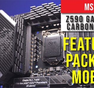 MSI Z590 Gaming Carbon WIFI overview: Feature Packed Motherboard 24