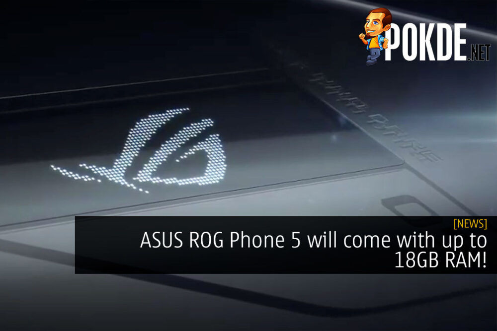 ASUS ROG Phone 5 18GB RAM cover