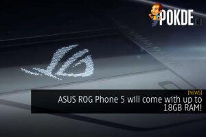 ASUS ROG Phone 5 18GB RAM cover