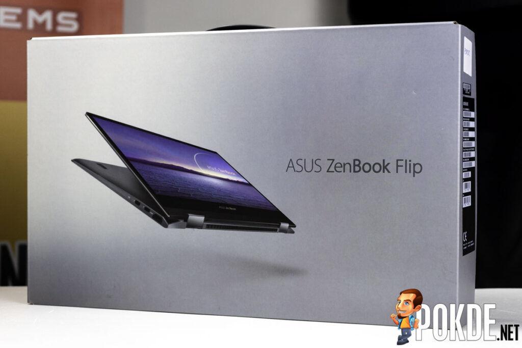 ASUS ZenBook Flip 13 OLED UX363 unboxing-1