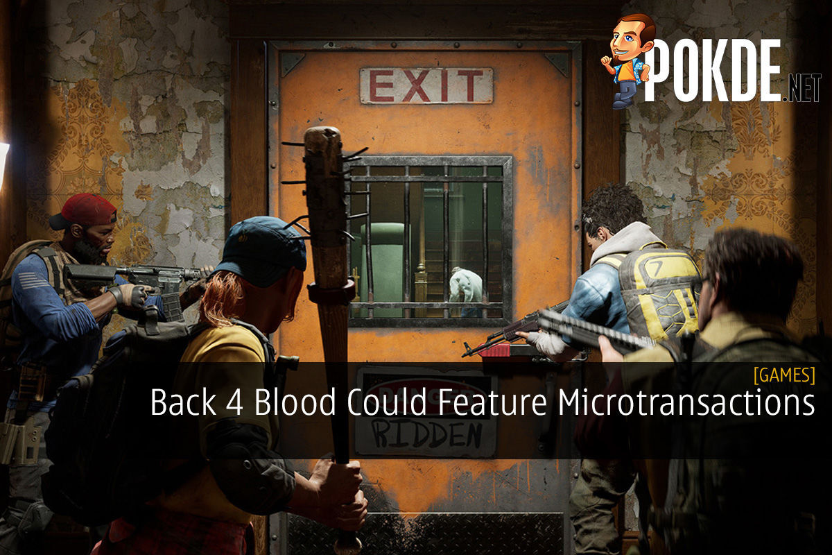 Back 4 Blood Could Feature Microtransactions 9