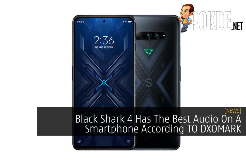 Black Shark 4 DXOMARK cover