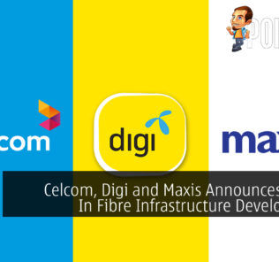 Celcom, Digi, Maxis Collaboration Fibre cover