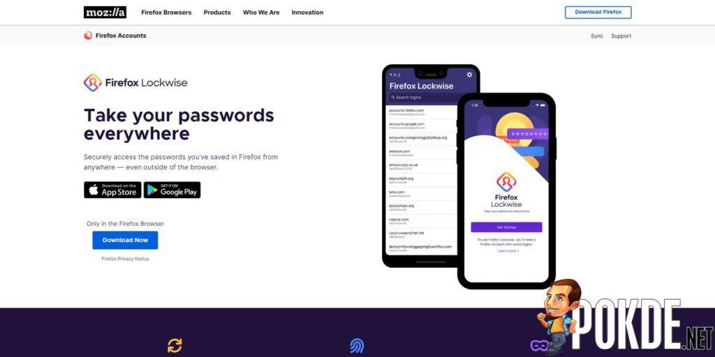 Firefox Lockwise