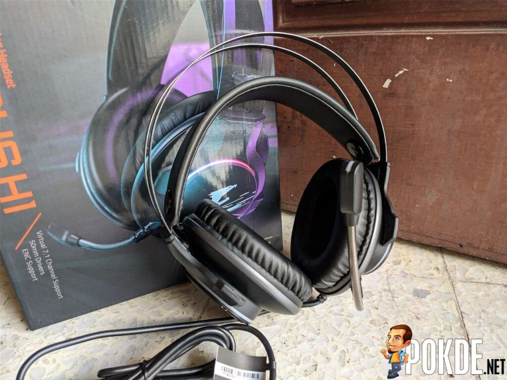 GIGABYTE AORUS H1 Gaming Headset Review - Is GIGABYTE's noise-cancelling headphones all that? 19