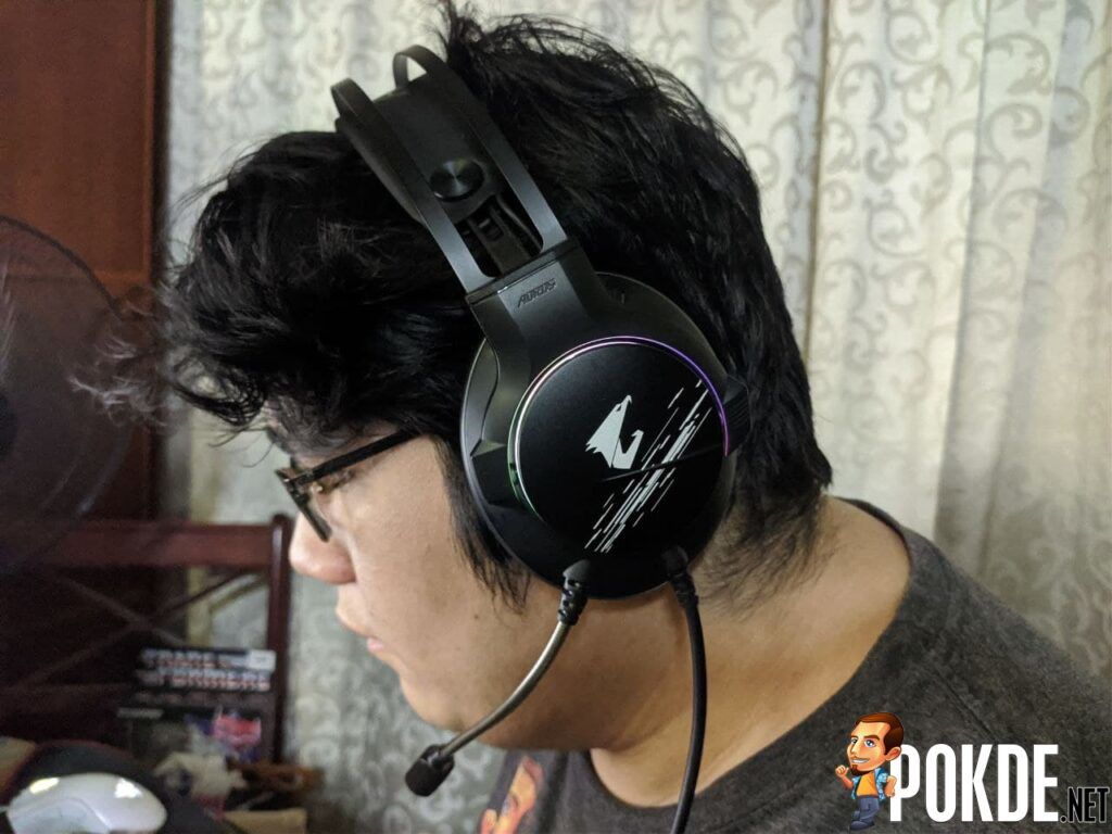 GIGABYTE AORUS H1 Gaming Headset With Head
