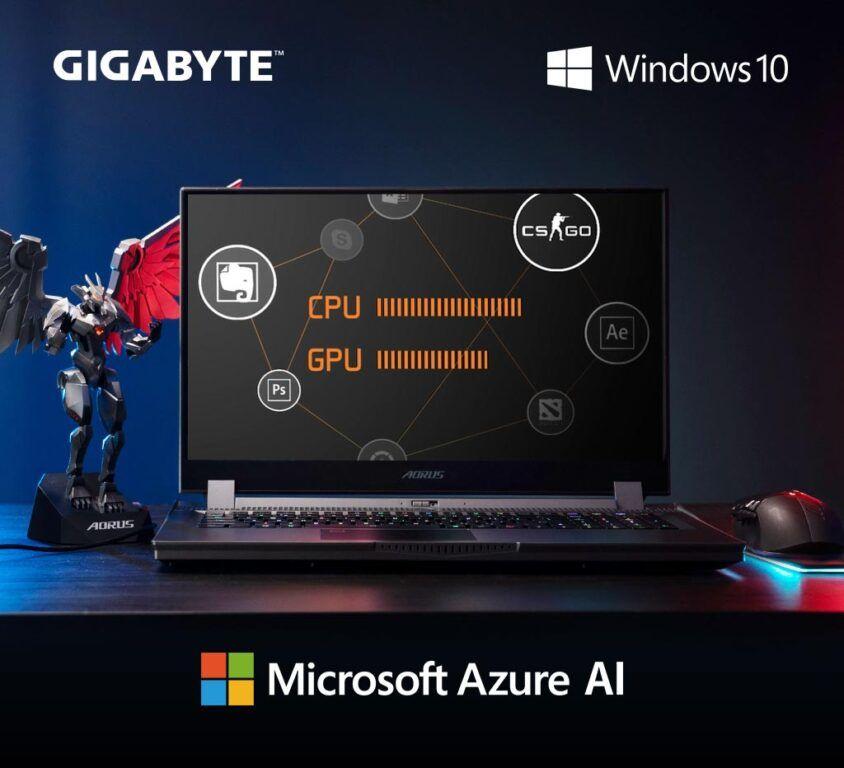 GIGABYTE AORUS Microsoft Azure AI