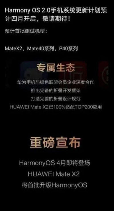 EMUI to be swapped with HarmonyOS soon