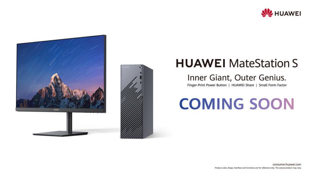 HUAWEI MateStation S coming to Malaysia