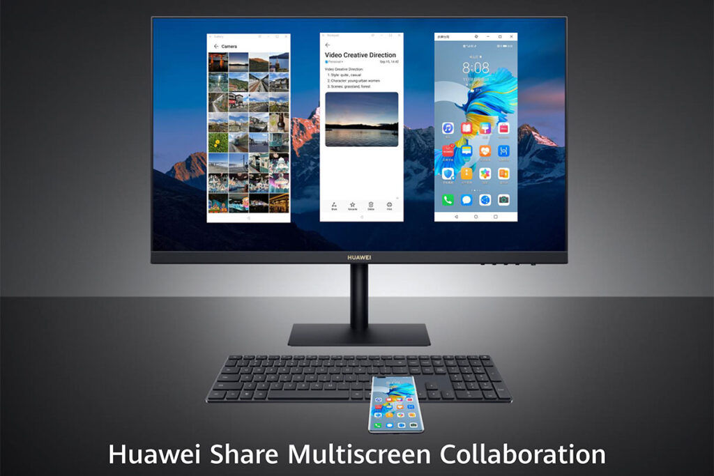HUAWEI matestation s huawei Share Multiscreen collaboration