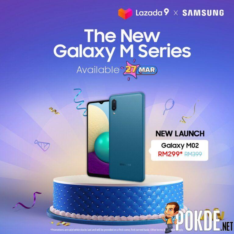 Lazada Birthday Samsung Galaxy M02