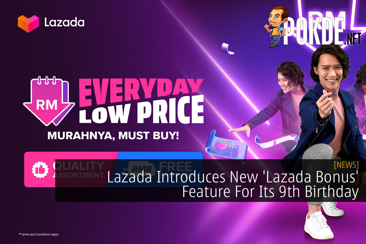 Lazada Bonus Lazada 9th Birthday cover
