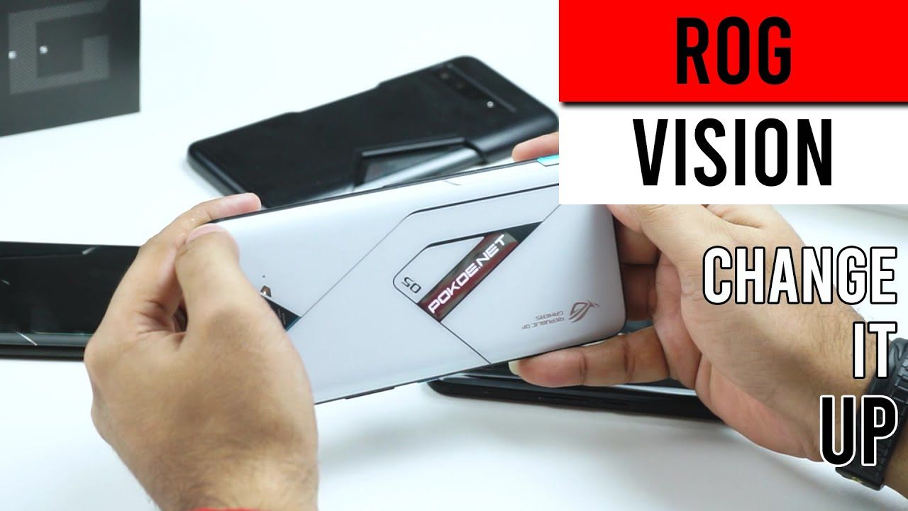 How To Customise ROG Vision On The ROG Phone 5 Pro and ROG Phone 5 Ultimate 17