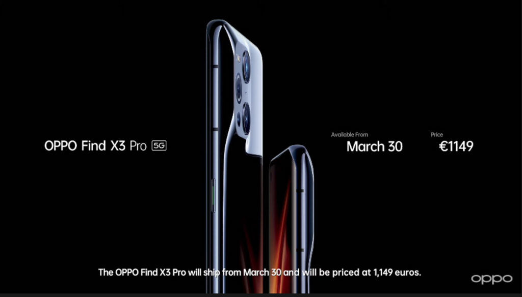 OPPO Find X3 Pro Globally Launched At €1,149 22