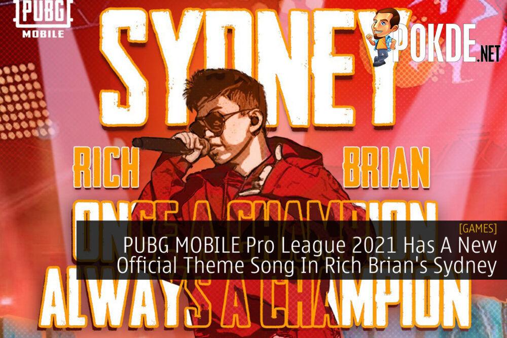 PUBG MOBILE Pro League 2021 Rich Brian Sydney cover