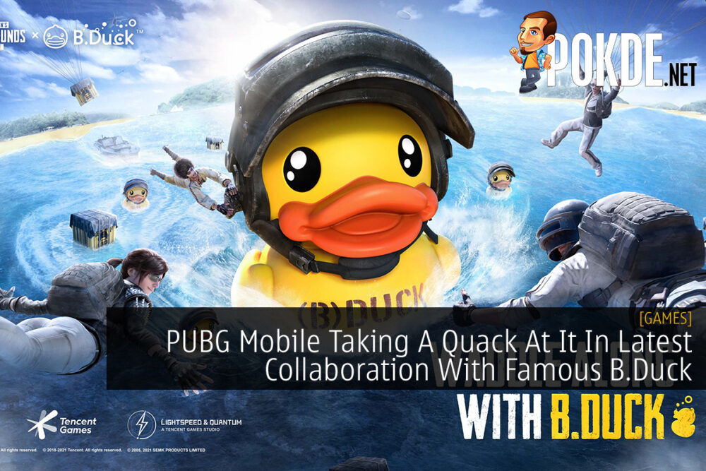 PUBG MOBILE x B.Duck cover