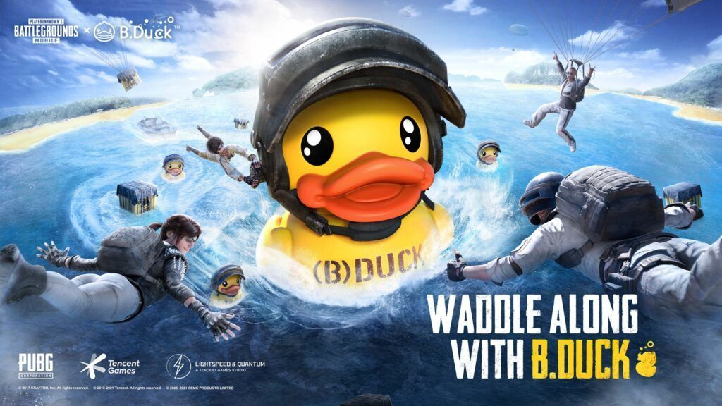 PUBG MOBILE x B.Duck