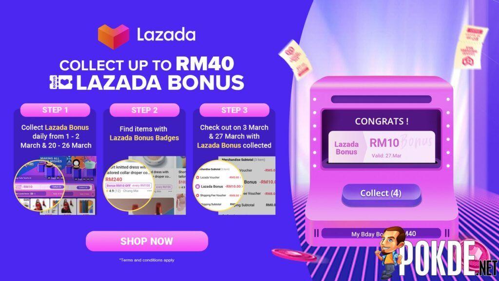 Lazada Bonus Infographic