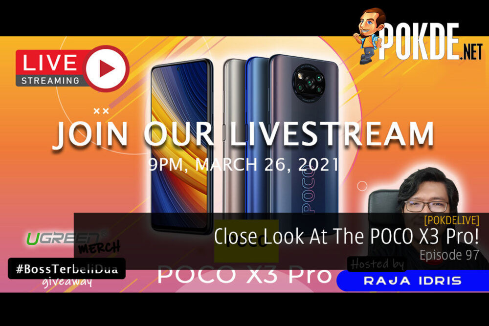 PokdeLIVE 97 — Close Look At The POCO X3 Pro! 18
