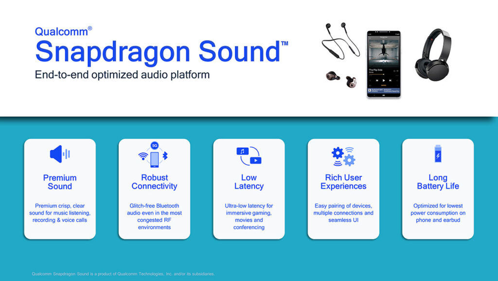 Qualcomm Snapdragon Sound technologies