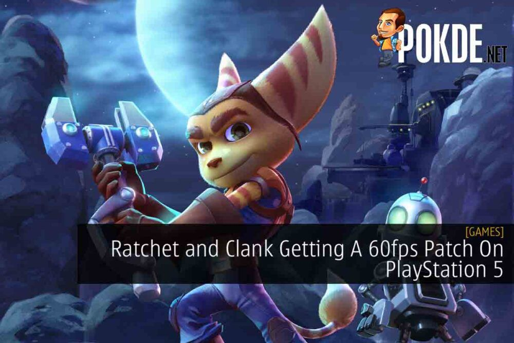 Ratchet and Clank 60fps cover