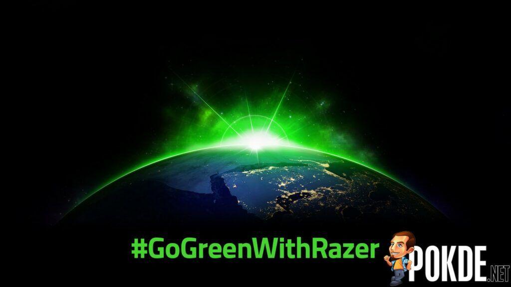 Razer Going Green #GoGreenWithRazer